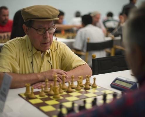 Ajedrez intergeneracional - jugadores