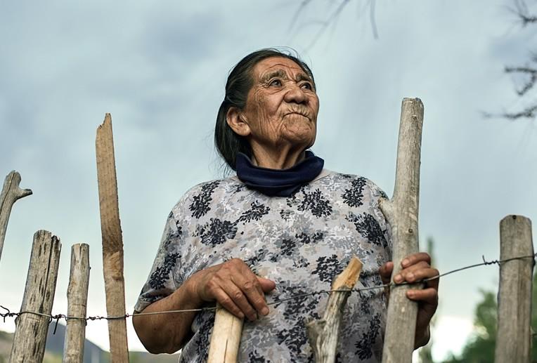 """""""Mujer Mapuche"""" Erica Voget (mención de honor)"""