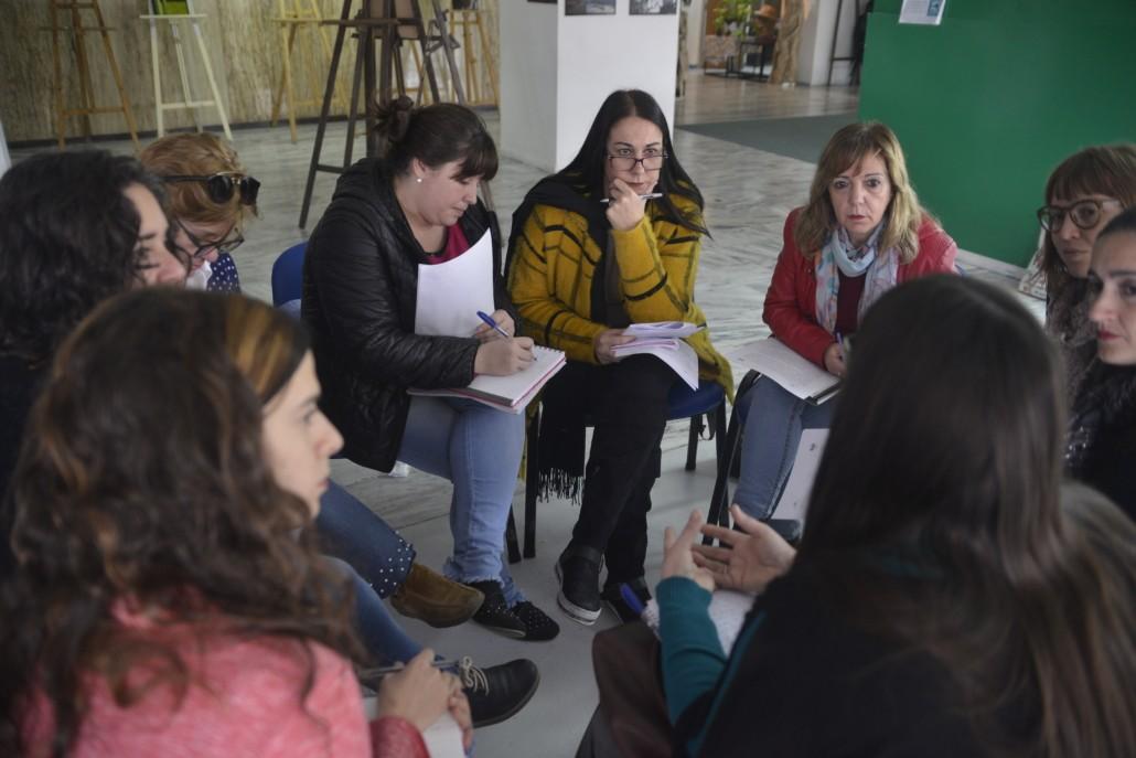 Capacitación con directoras en el proyecto Buen Inicio