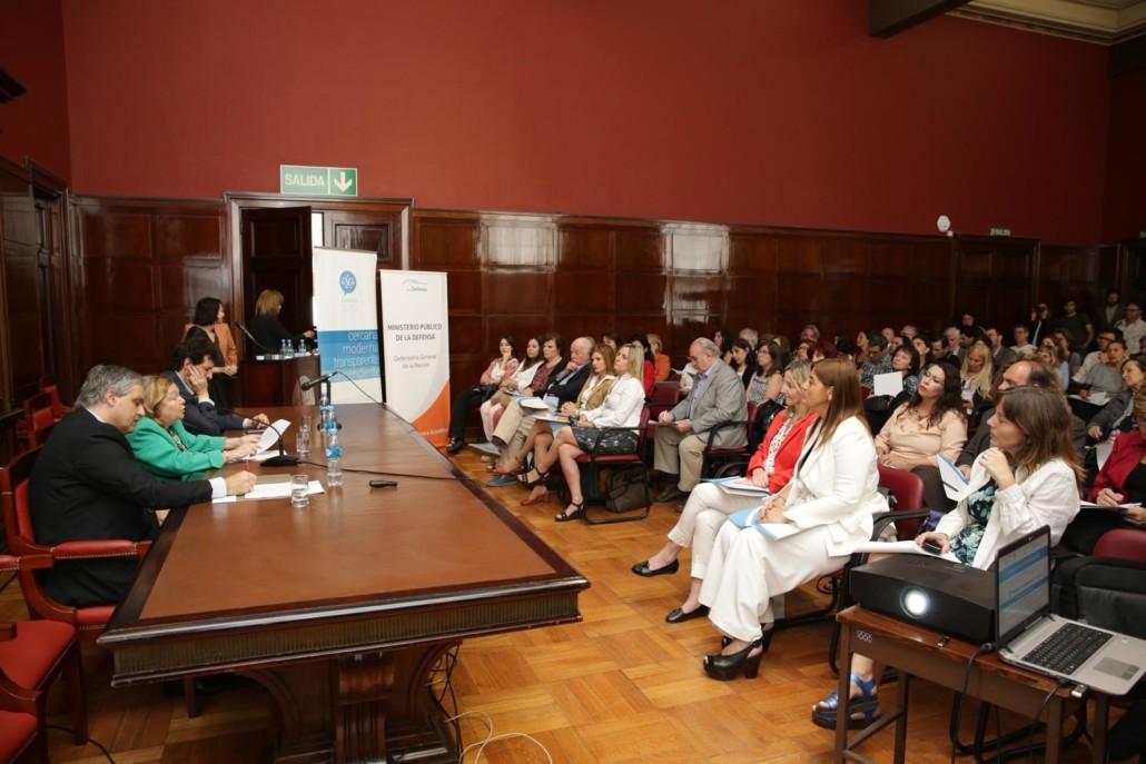 Presentación de la Convención de Derechos de las Personas Mayores en la UBA