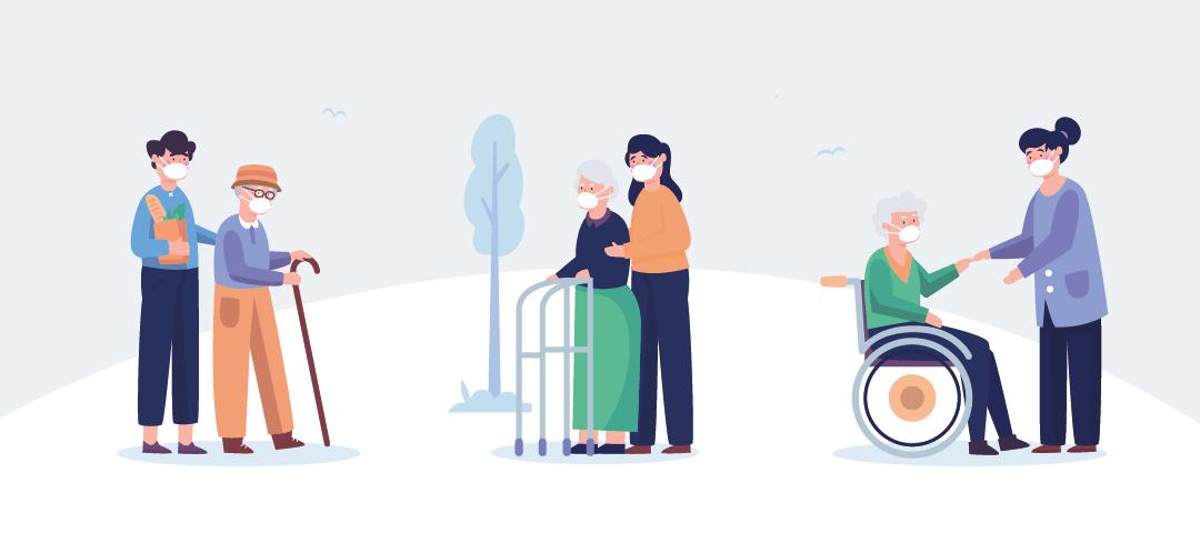 cuidar personas mayores